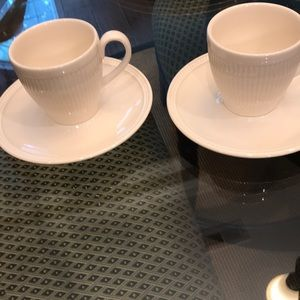 Wedgwood Windsor 2 Cups and Saucers
